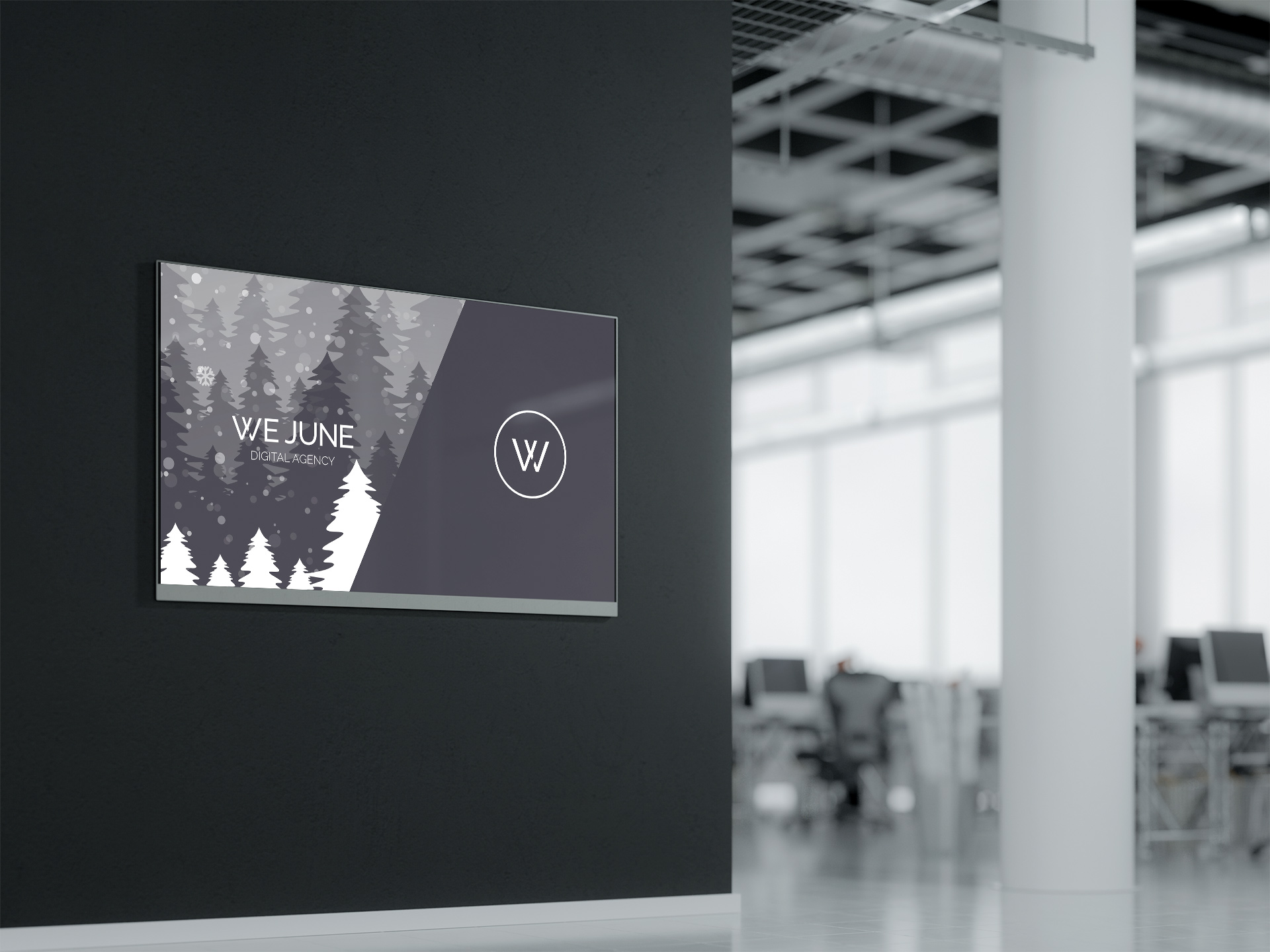 DIGITAL SIGNAGE - WE JUNE
